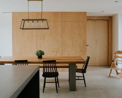 Contemporary house Ireland plywood cladding
