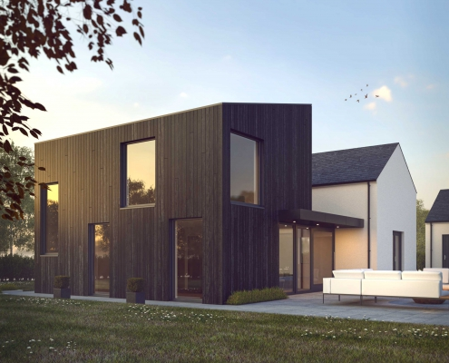 Modern Extension to traditional House