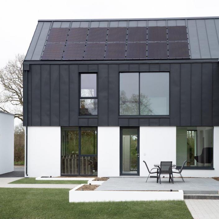 Energy efficient award winning house